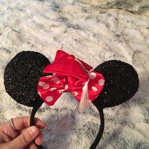 Graduation Minnie Mouse Ears